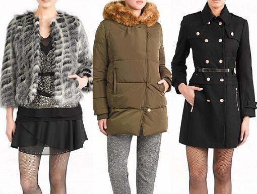 abrigos sfera ropa para mujer del invierno 2013