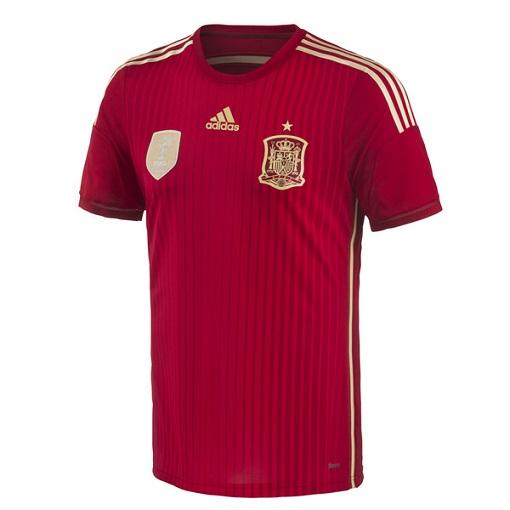 Camiseta España Mundial 2014
