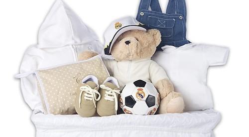 Canastilla bebé Real Madrid