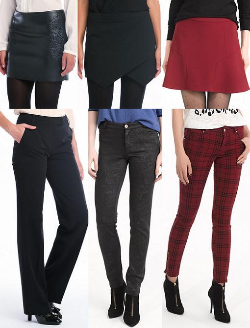 easy wear faldas pantalones 2013