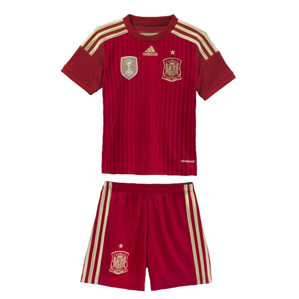 Equipación de fútbol selección española