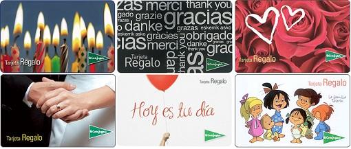 El corte ingles tarjetas regalo empresas