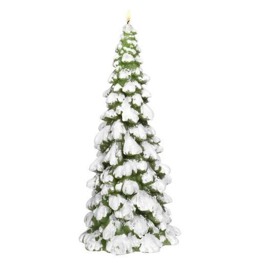 Vela árbol de navidad