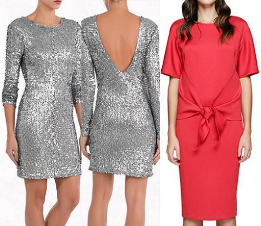 vestidos de fiesta el corte ingles fin de año navidad 2013 marcas