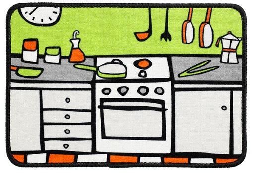 Alfombras de cocina el corte ingl s llenas de color for Grifos cocina el corte ingles