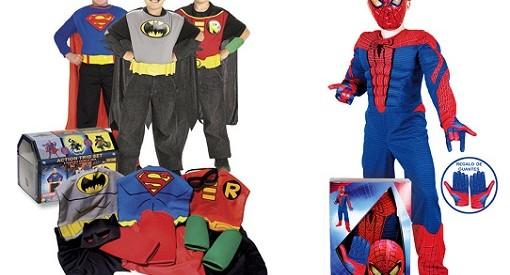 Disfraces superhéroes el corte inglés