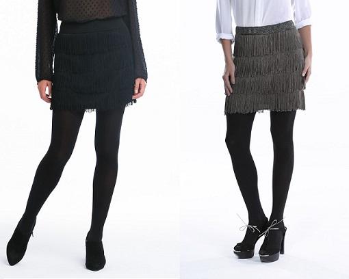 Faldas de flecos El Corte Inglés