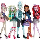 Pack 5 muñecas Monster High