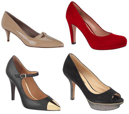 zapatos de fiesta en el corte ingles 2013