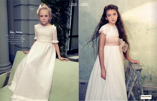 Vestidos niña de Comunión