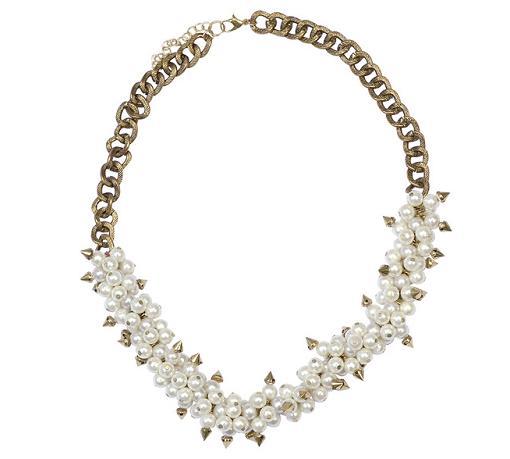 collares de moda 2014 perlas