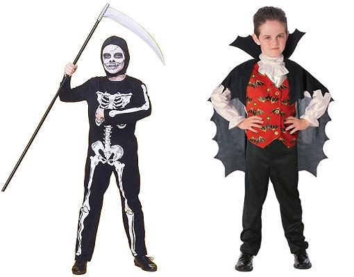 Disfraces infantiles de miedo