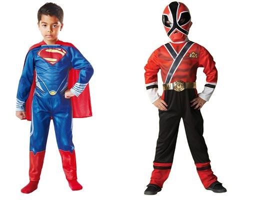 Disfraces infantiles superhéroes