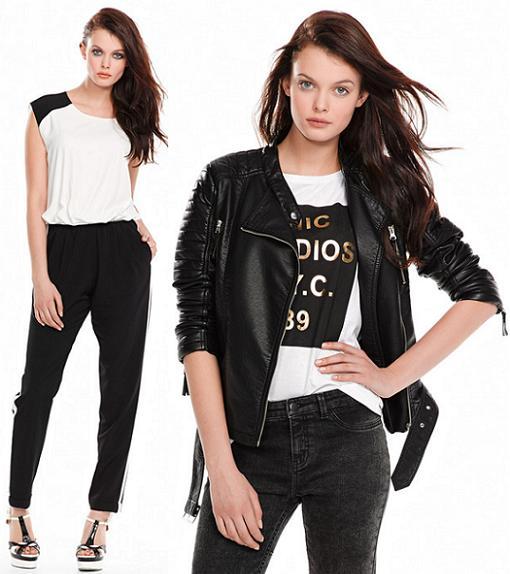 el corte ingles moda 2014 blanco negro