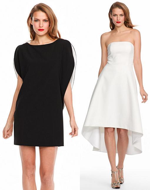 Vestidos corte ingles blanco y negro