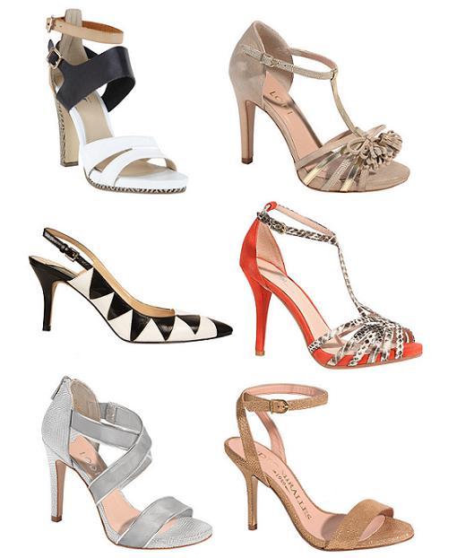 b580ce32648 Nuevas sandalias y zapatos El Corte Inglés primavera verano 2014 con ...