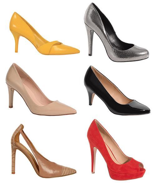 zapatos de salon el corte ingles primavera verano 2014