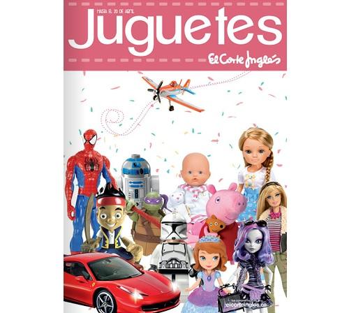 Catálogo de juguetes El Corte Inglés