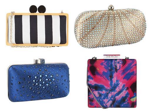 clutch y bolsos de fiesta 2014 el corte ingles