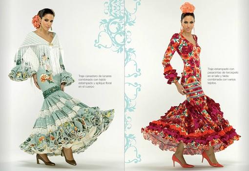 El Corte Inglés trajes de flamenca
