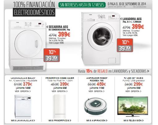 3e813db03af8 Ofertas en electrodomésticos El Corte Inglés: hasta el 13 de marzo ...