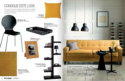 Cat logo el corte ingl s 2014 con muebles y decoraci n - El corte ingles muebles de salon catalogos ...