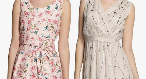 Vestidos para bodas 2014 de El Corte Inglés: Tintoretto, Yera, Amitie y otras marcas de moda