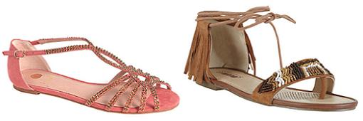 zapatos el corte ingles primavera verano 2014 sandalias planas