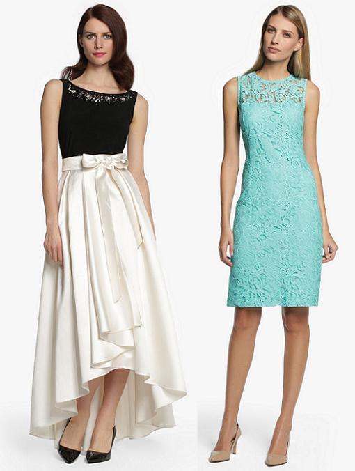 12 vestidos de fiesta el corte ingl s 2014 para bodas con for Plafones de pared el corte ingles