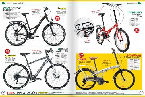 baratas gran calidad disfruta el precio más bajo Nuevo catálogo de bicicletas El Corte Inglés 2014: de ...