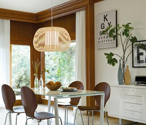 10 l mparas el corte ingl s de techo ideales para tu - Lamparas para comedores modernos ...