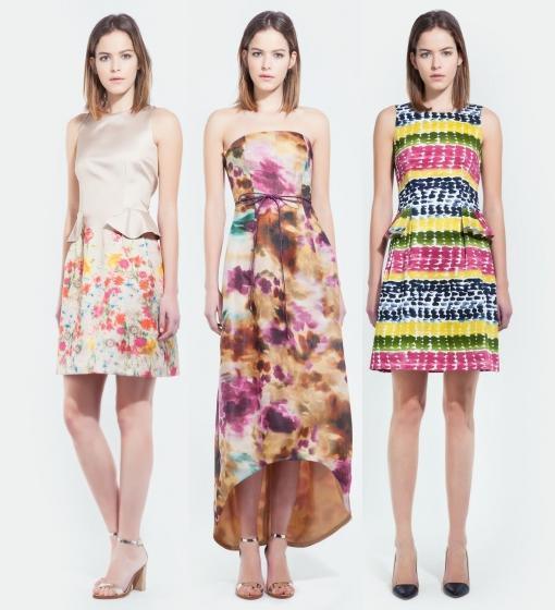 purificacion garcia vestidos flores primavera verano 2014