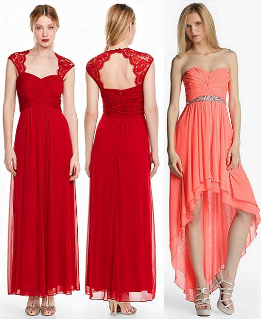 vestidos de fiesta el corte ingles 2014 para bodas primavera verano