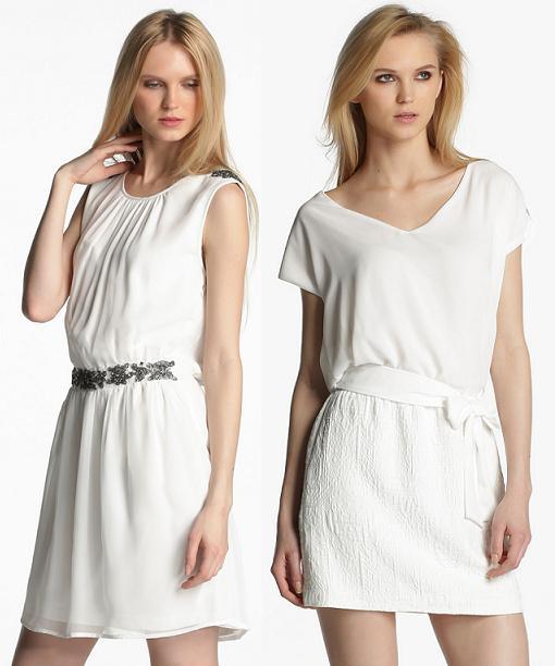 vestidos de fiesta formula joven primavera verano 2014 blancos