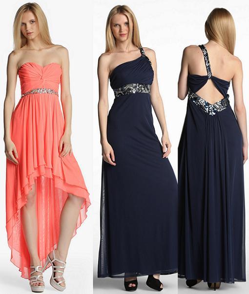 vestidos de fiesta formula joven primavera verano 2014 largos