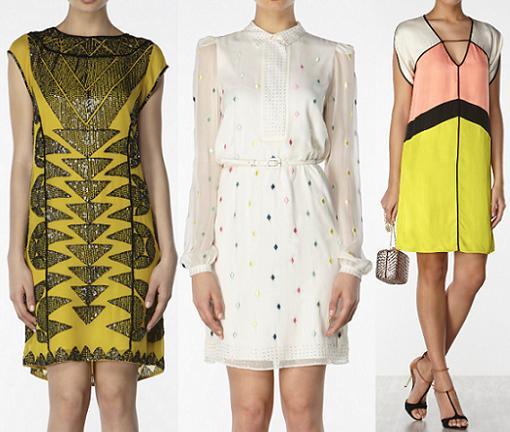 Vestido fiesta hoss intropia 2015