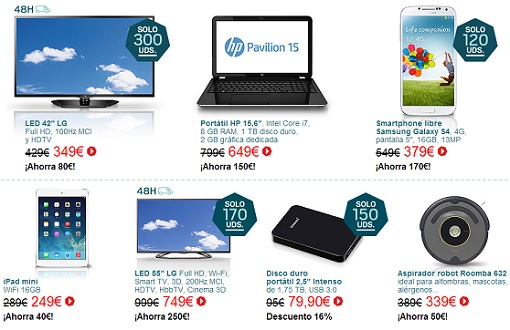 ofertas de la semana de internet