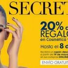 Secretos de belleza El Corte Inglés: 20% de descuento en cosmética y maquillaje