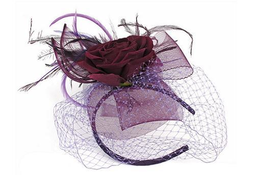 tocados para bodas el corte ingles con tul