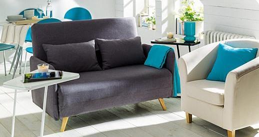 sofá cama El Corte Inglés