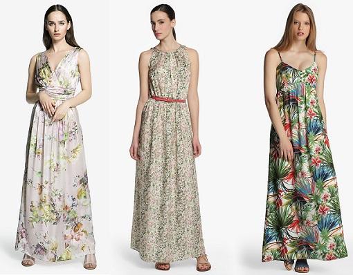 vestidos de flores el corte inglés
