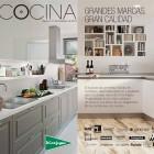 catálogo de cocinas El Corte Inglés 2014