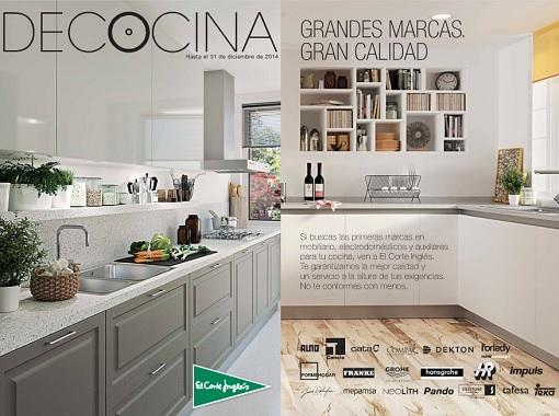 Cat logo de cocinas el corte ingl s 2014 con todas las for Catalogo de muebles de cocina pdf