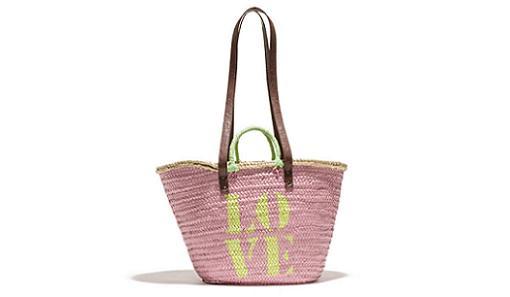 cestas de mimbre y capazos para la playa