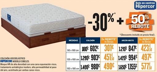 información sobre colchón Cibeles de Hipercor   forocolchon.com
