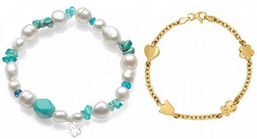 pulseras tous de perlas