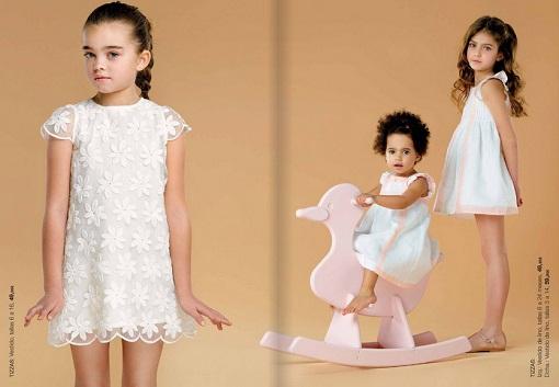 vestidos de ceremonia para niña