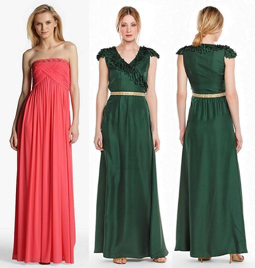 vestidos largos el corte ingles