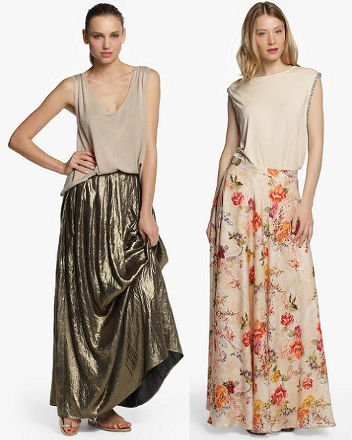 Nuevas faldas largas y midi de el corte ingl s para vestir - Mobiliario juvenil el corte ingles ...