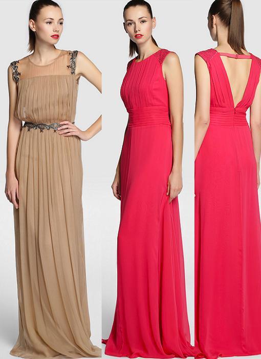 Nuevos vestidos para bodas el corte ingl s 2014 muy for Apliques de pared el corte ingles